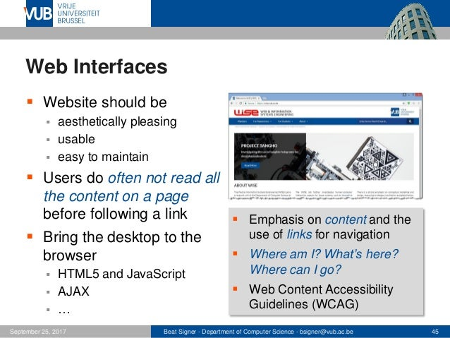 Introduction - Lecture 1 - Next Generation User Interfaces (4018166FN…
