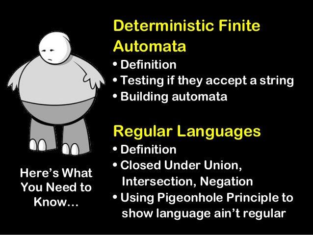 non deterministic finite state machine