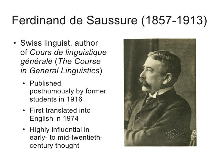 nature of linguistic sign by ferdinand de saussure essay Ferdinand de saussure the arbitrary nature of the sign explains why the social quotes from saussure's course in general linguistic saussure, ferdinand de.