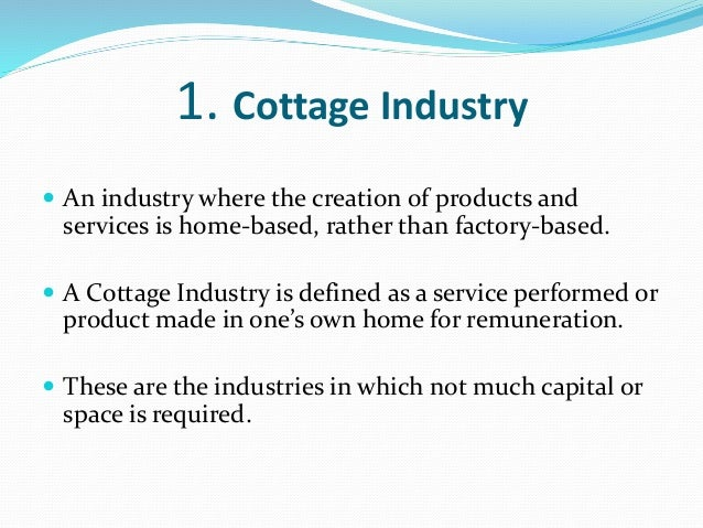 Joint Sector Industry 3 1 Cottage