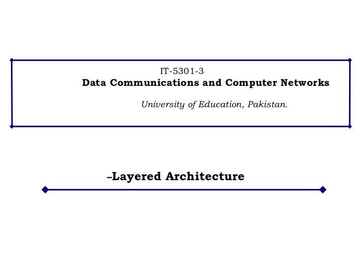 – Layered Architecture
