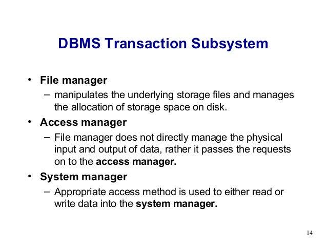 Advanced dbms presentation.