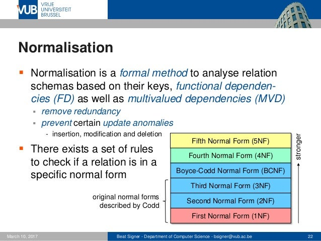 Relational Database Design - Lecture 4 - Introduction to Databases (1…