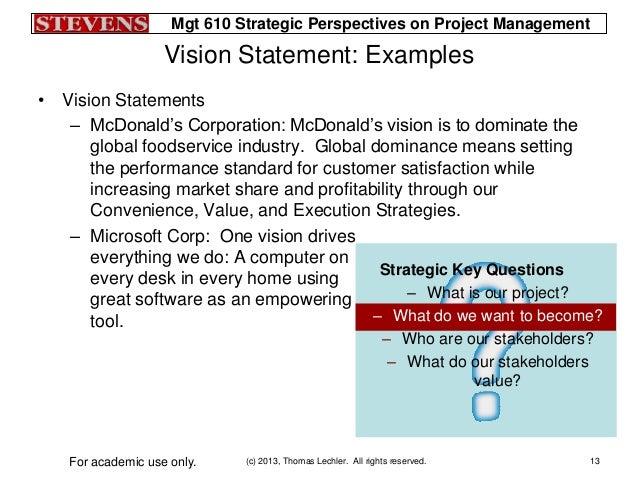 Lecture04 slides - Project management office mission statement ...