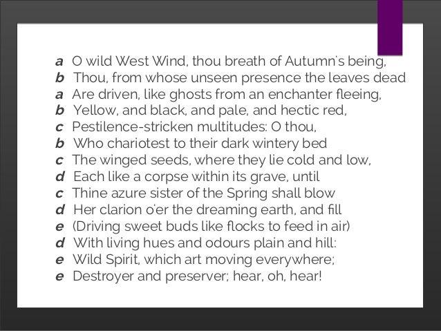 ode to autumn rhyme scheme