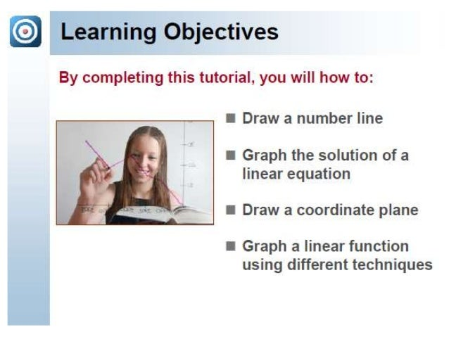 References  • http://www.rapidlearningcenter.com/mathematics/Preview/R  L408/PT/AL1_CT12_GraphingLinearEquations.pdf