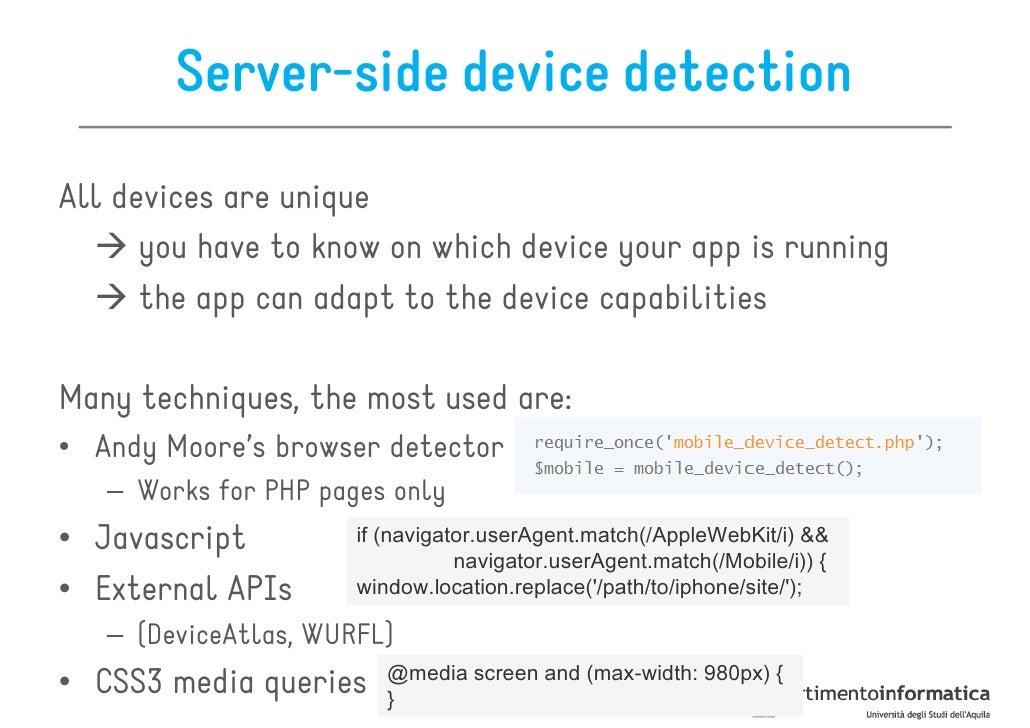Anatomy of an HTML 5 mobile web app