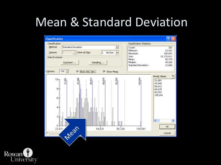 Mean & Standard Deviation<br />Mean<br />
