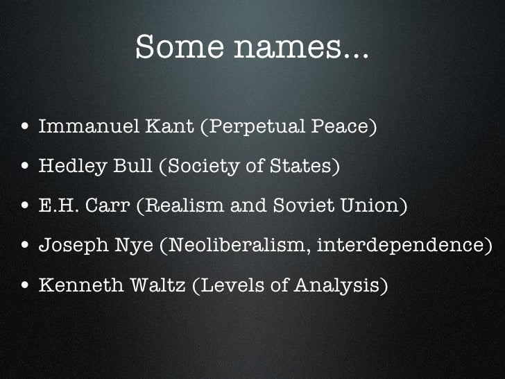 """an analysis of perpetual peace by immanuel kant Kant, immanuel """"perpetual peace"""" idpeace updates via email by the type of post analysis (1) forecasting (2) miscellaneous ia (3) paper responses (5."""