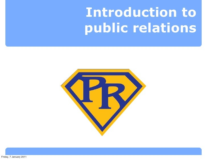 Lecture 1: Introduction to PR