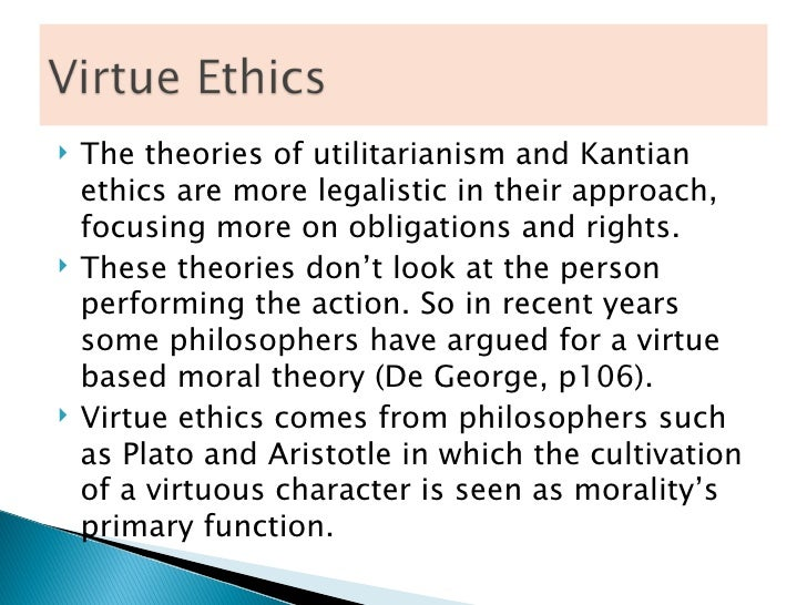 Virtue ethics on cheating