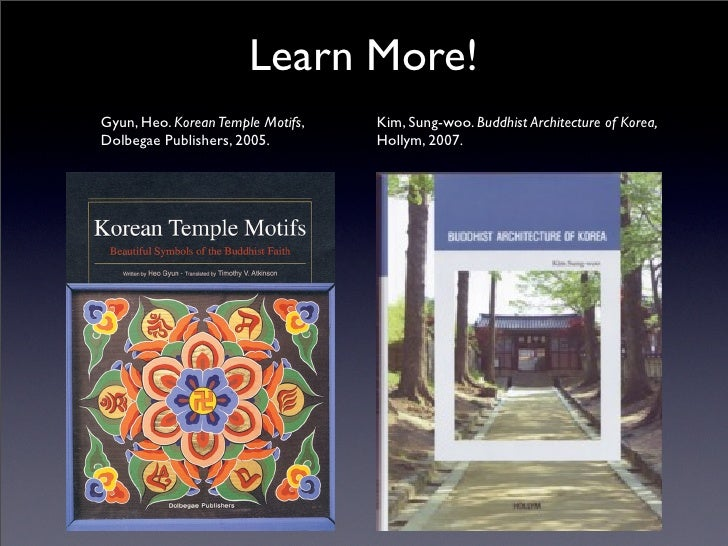 2012 Lecture Series An Introduction To Korean Buddhist Temples