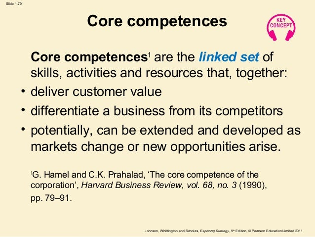 hamel prahalad 1990 the core competencies of the corporation harvard business review 68 3 79 91 He was the co-author of core competence of the corporation (with gary hamel) and the fortune at the bottom of the pyramid (with stuart l hart), about the business opportunity in serving.