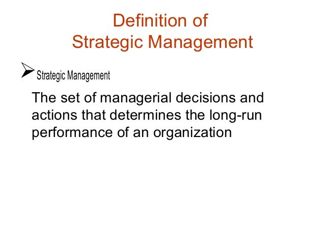 why has strategic management become so important to today s corporation It both lays out your company's goals and explains why they're important the strategic planning process also helps you uncover ways to improve performance it can, for instance, spark insights about how to restructure your organization so that it can reach its full potential.