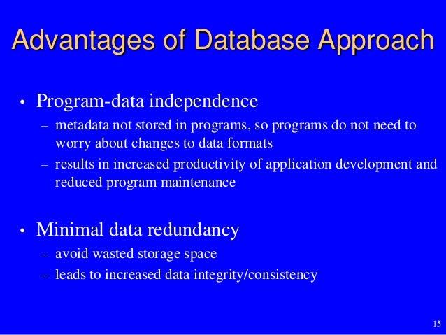 Database Fundamentals Database