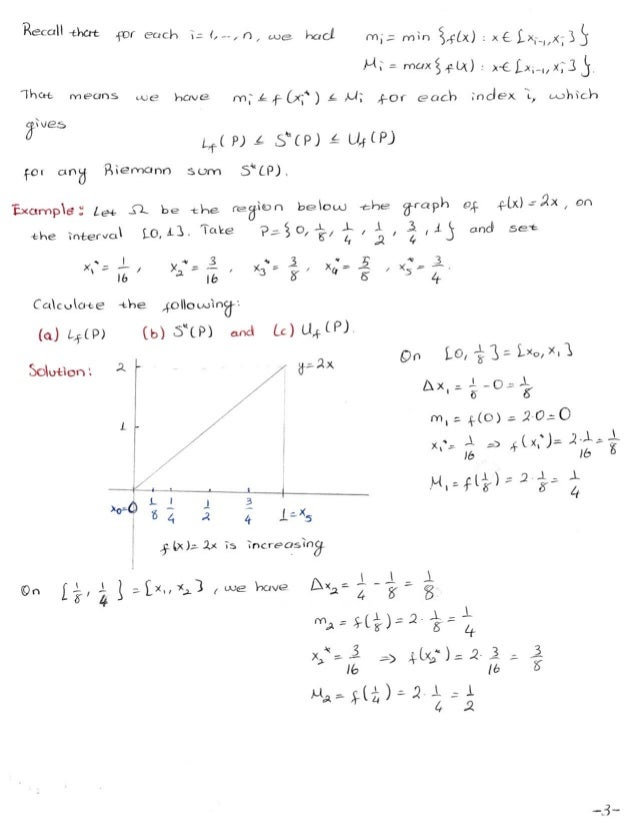 Calculus II Lecture Notes