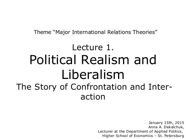 "realism relations political Jeffrey w legro and andrew moravcsik  "" the progressive power of realism,"" american political science review, vol 91,  and international relations."