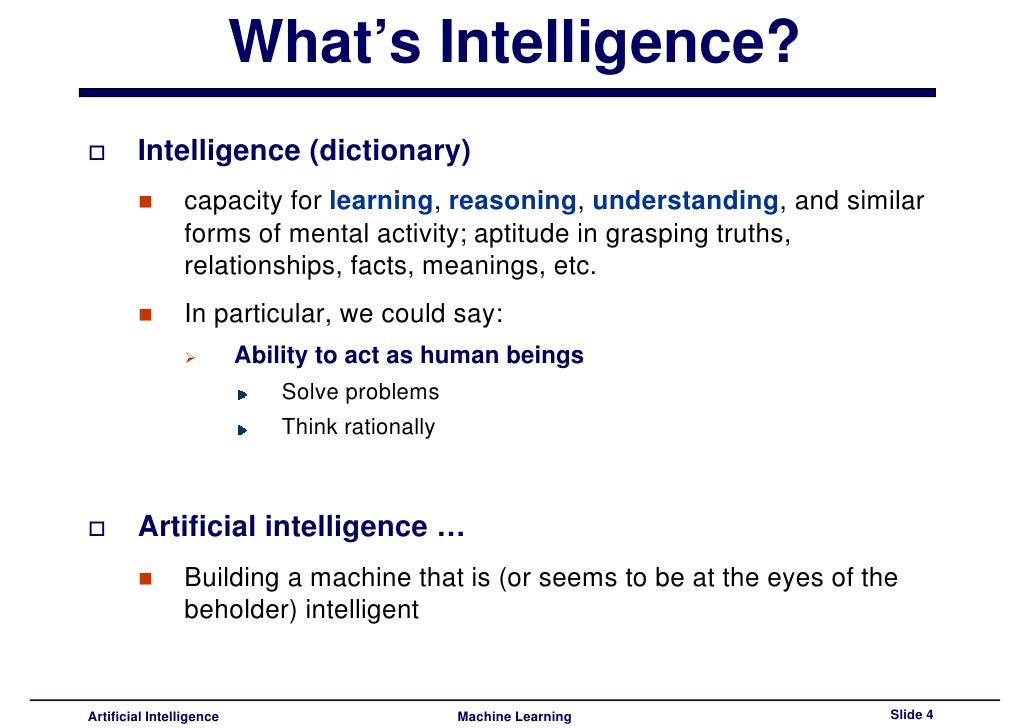 Introduction To Artificial Intelligence Pdf