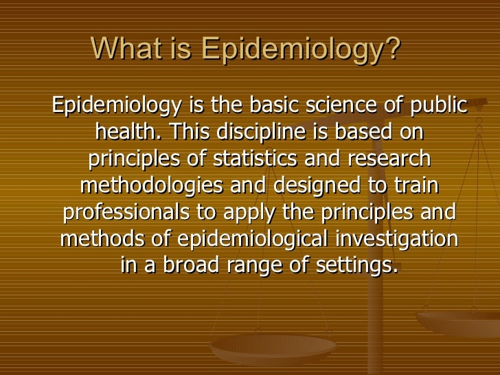 lecture 1. an introduction to epidemiology, Human Body