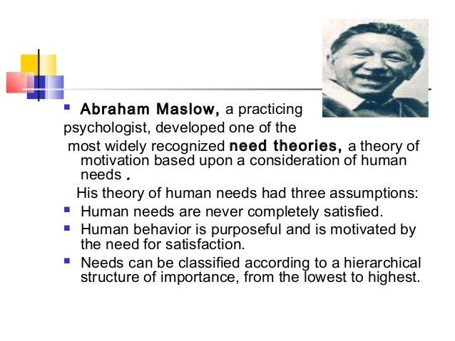an introduction to maslows hierarchy Maslows theory - limitations, criticism and importance maslows theory - limitations, criticism and importance maslows hierarchy of needs theory is important in.