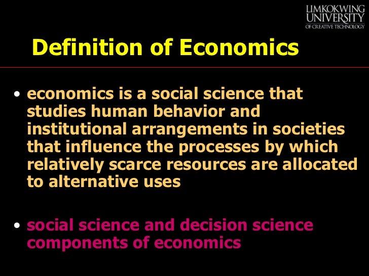 Lecture1  Basic Economic Concepts (1) Slide 2
