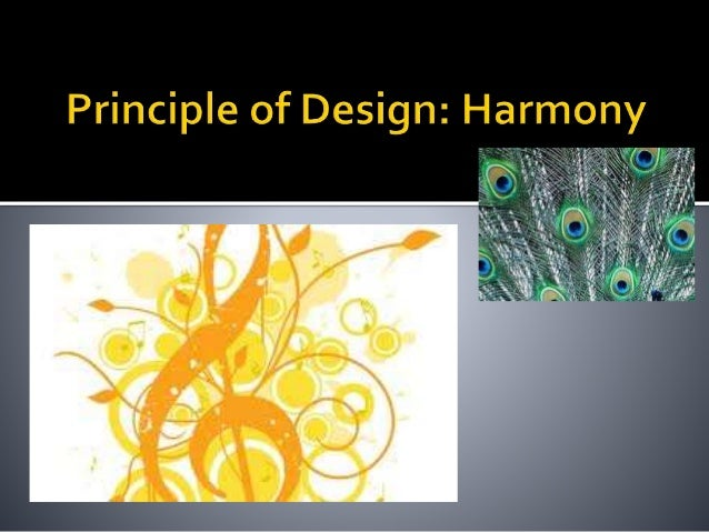 Unity Relating the design elements to the idea being expressed in a painting reinforces the principal of unity. Example: a...