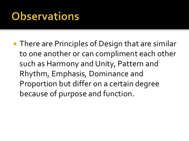 Lecture 1 b definition of principle of design