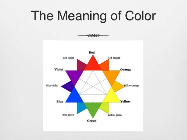 Lecture 1 Colors