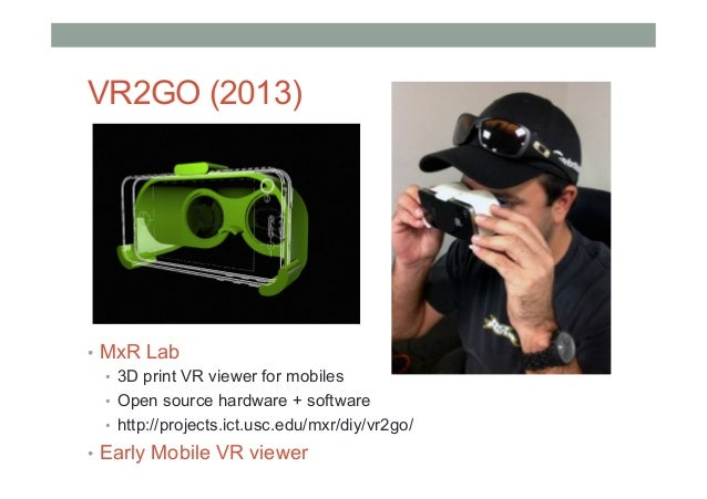 Multiple Mobile VR Viewers Available