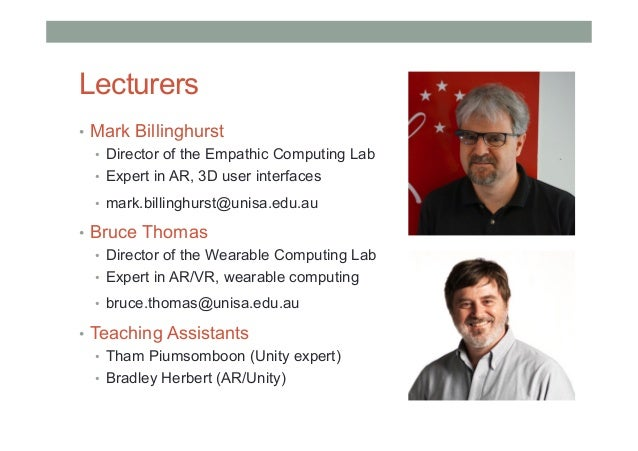 COMP 4010 - Lecture 1: Introduction to Virtual Reality Slide 3