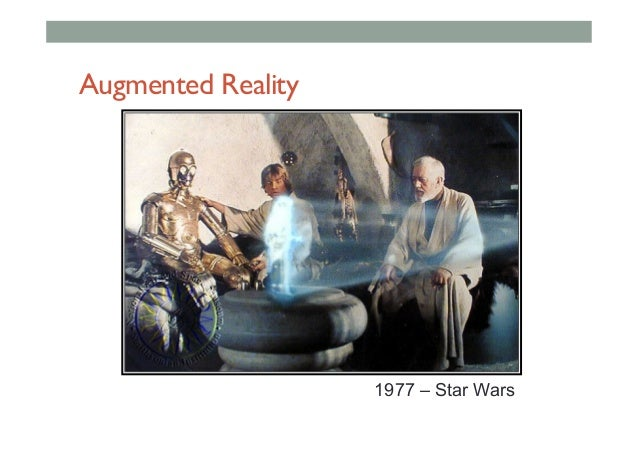 Augmented Reality 1977 – Star Wars