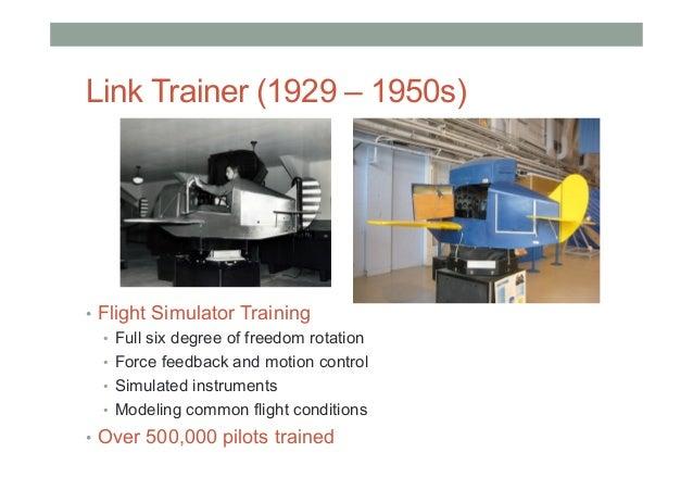 Link Trainer Video (1966) • https://www.youtube.com/watch?v=MEKkVg9NqGM