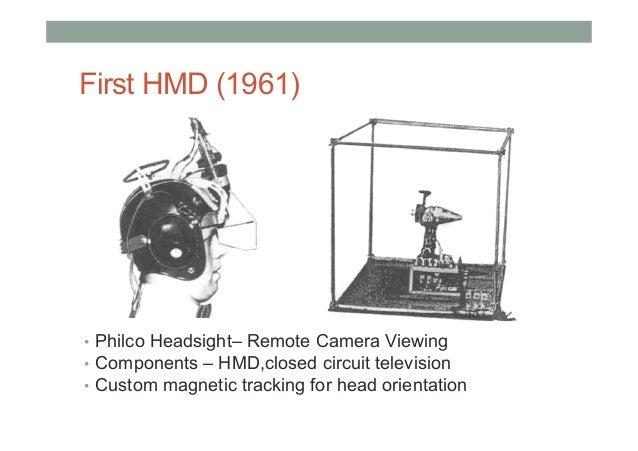 Ivan Sutherland (1960s) 7 0 Ivan Sutherland's Head-Mounted Display (1968)