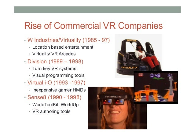 Overview of VR in the 1990's https://www.youtube.com/watch?v=tdAaU0CRHng&feature=youtu.be&t=1m51s