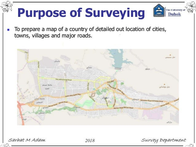 25 Purpose Of Surveying