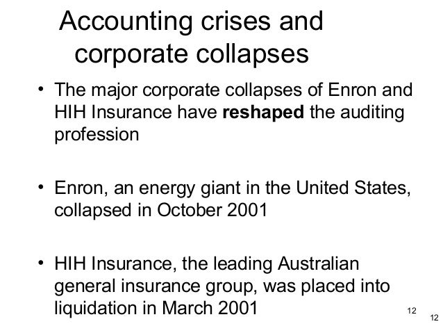 hih corporate collapse Hih: inside the story of australia's biggest corporate collapse [mark westfield]  on amazoncom free shipping on qualifying offers mark westfield exposes.