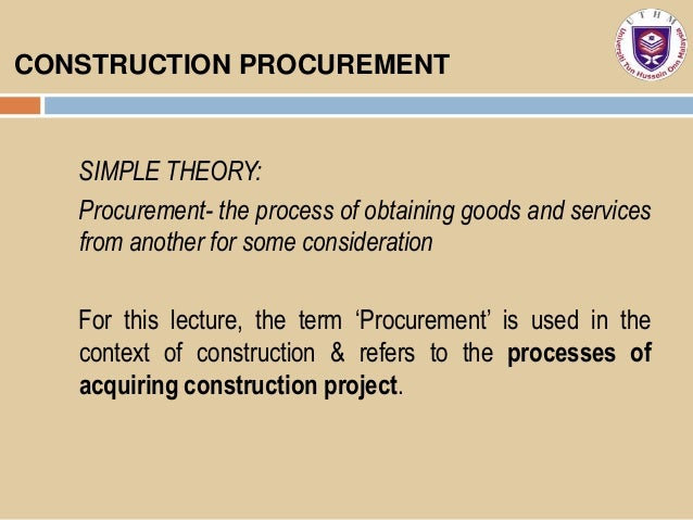 process of procurement Many translated example sentences containing procurement process – french-english dictionary and search engine for french translations.