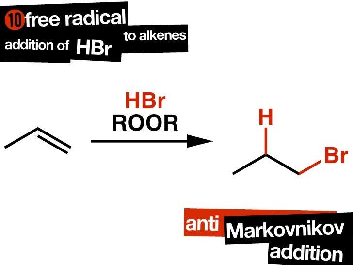 Chaper 6 rxn alkenes lecture notes