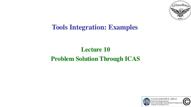 Episode 58 :  Tools Integration Examples Slide 2