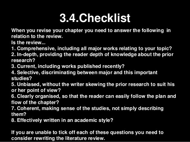 Dissertation writing advice methodology section