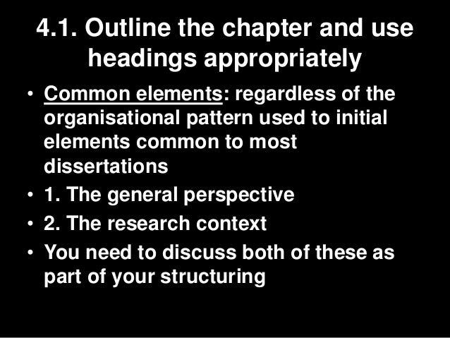 Common methodology mistakes in dissertations