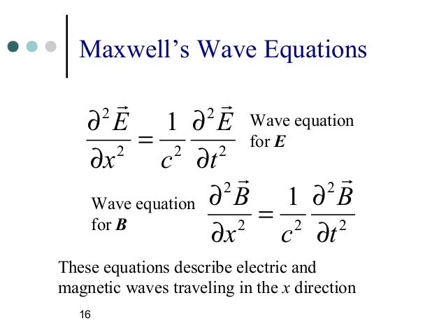 maxwell equation The system of partial differential equations describing classical electromagnetism and therefore of central importance in physics in the so-called cgs system of units, the maxwell equations are given by.