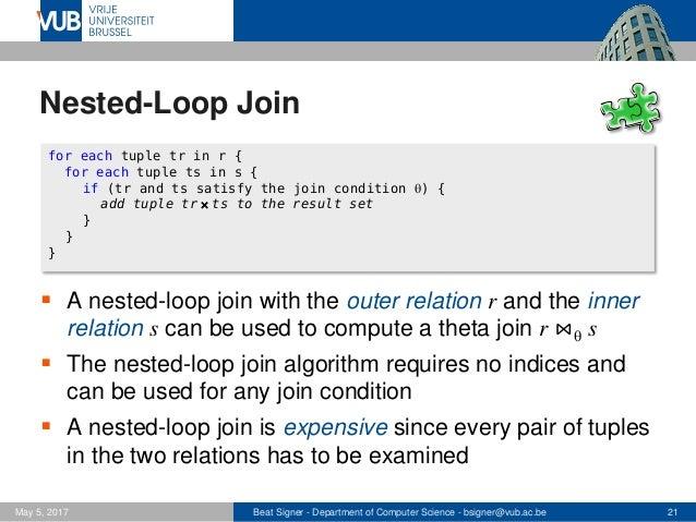 join algorithm