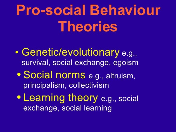 psychology pro social behaviour The psychology of prosocial behavior: group processes, intergroup relations the social psychology of processes, intergroup relations, and helping.