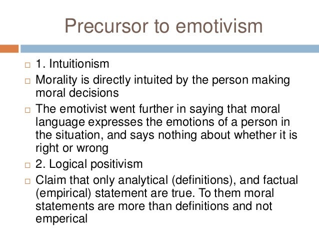 emotivism ethics Emotivism definition at dictionarycom, a free online dictionary with pronunciation, synonyms and translation look it up now.