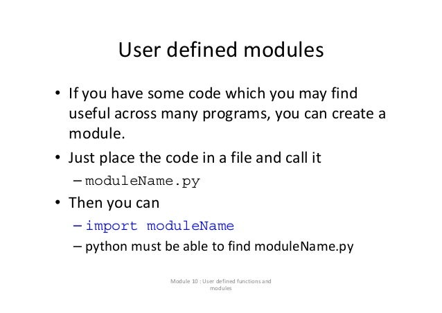 modularity using functions Notice that the module uses normal javascript to create functions, objects, constants, and any other javascript type the module also defines a special array named exported_symbols any javascript item named in exported_symbols will be exported from the module and injected into the importing scope.