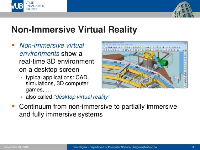 Virtual and Augmented Reality - Lecture 10 - Next ...