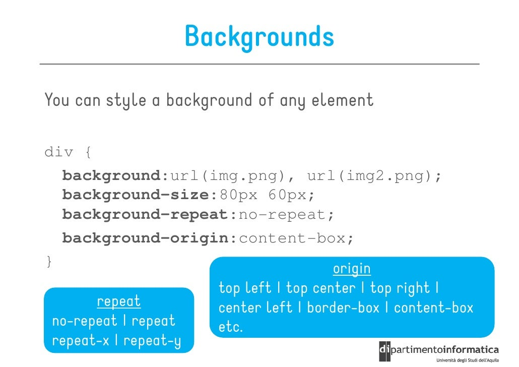 CSS3 Refresher on