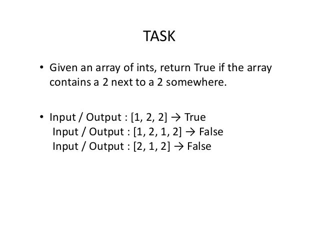 Python - Lecture 11