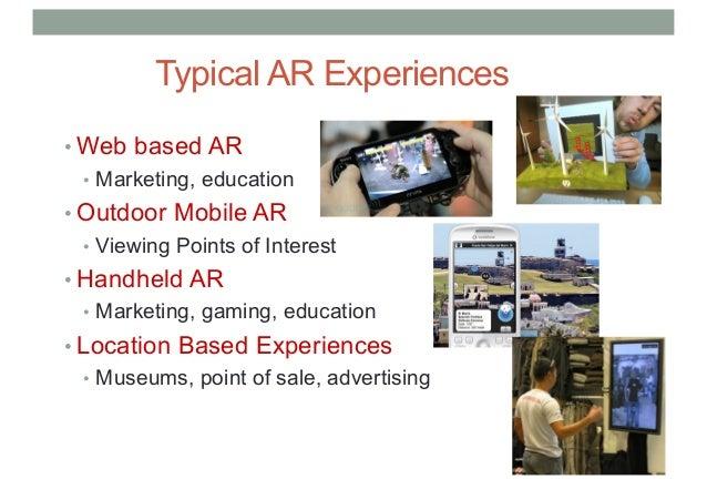 COMP 4010 - Lecture11 - AR Applications Slide 3